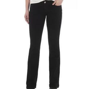 New Wrangler Mid Rise Boot Cut Jeans